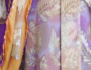 Japanse kimono - Paars:geel - 3787