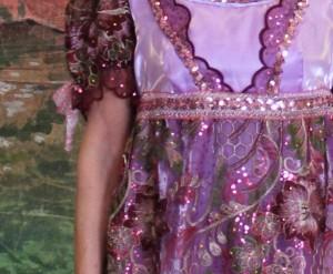 Regency - Jane Austen - Franse revolutie - 1800 - Paars:roze - 3804